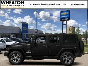 2016 Jeep Wrangler Unlimited Sahara  -  A/C - Low Mileage