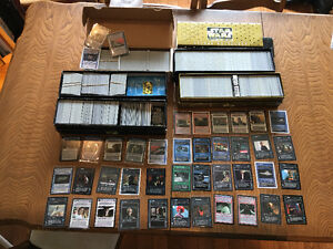 Star Wars cards ccg - large lot