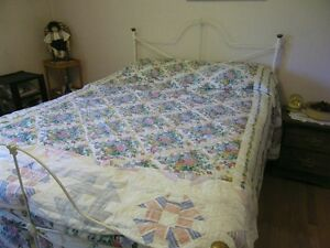 Antique Wrought Iron Bed