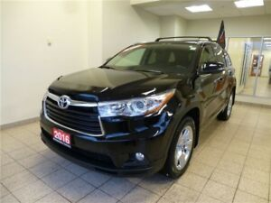 2016 Toyota Highlander LIMITED + PANO ROOF Lots of Factory Warra