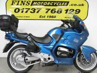BMW R1100RT, Blue, Good condition, Rides well, Top box, MOT, Warranty
