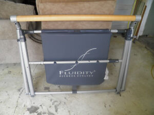 fluidity workout bar and mat system