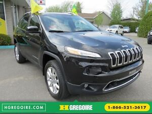 2015 Jeep Cherokee Limited AUT V6 AWD CUIR MAGS TOIT CAMERA NAVI