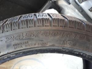 245/40/19 toyo winter tires