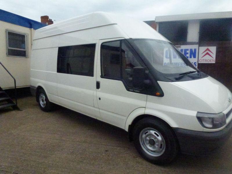 Ford Transit Welfare Van Ideal Camper Conversion 2005 Cheap No Vat