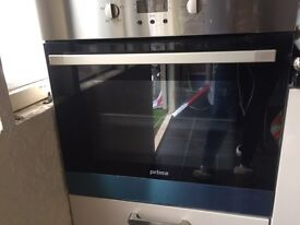 Brand new prima oven and hob never been used