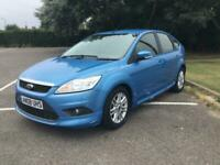 2008 Ford Focus 1.6 TDCi Econetic 5dr 4 owner £30 per year road tax, full servic