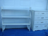 Very nice bedroom set for young girl