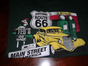 Route 66 tee shirts for sale.