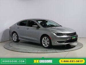 2015 Chrysler 200 Limited AUTO A/C GR ELECT TOIT MAGS BLUETOOTH