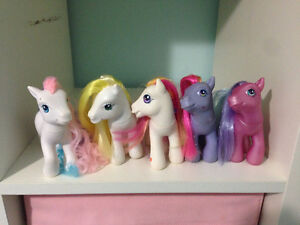 3g my little ponies