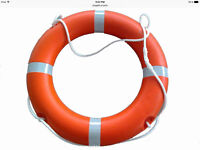 Looking for orange life ring for fishing boat