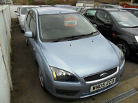 FORD FOCUS 1.6 2005 ZETEC COMPLETE WITH M.O.T HPI CLEAR INC WARRANTY