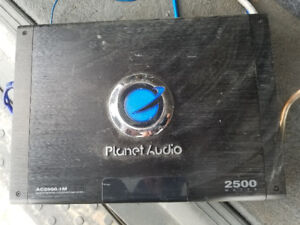 """Pioneer 12"""" subs and 2500W amp"""