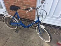 Retro bike puch fold up one 1970-1980 collectable