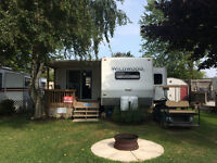Park Model Trailer with Add a Room for sale