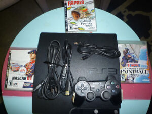 playstation 3 plus 3 games