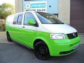 2009 VOLKSWAGEN TRANSPORTER 1.9TDi PD ( 102PS ) LWB T32, 1 OWNER FROM NEW.