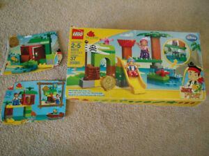 Lego Duplo Jake and the Neverland Pirates Two Sets!
