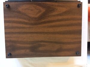 Vintage Faux Wood Realistic Cassette Tape Holder Cornwall Ontario image 4