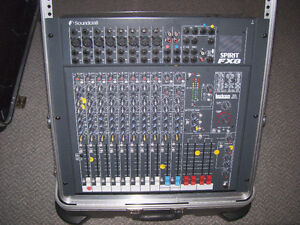 Soundcraft FX8 mixing board