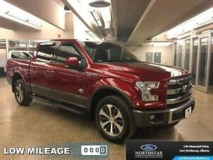 2015 Ford F-150 King Ranch   - Sunroof - $333.93 B/W - Low Milea