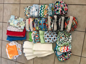 Stater cloth diaper lot
