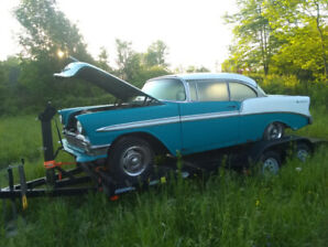 1956 chevy hardtop project driver