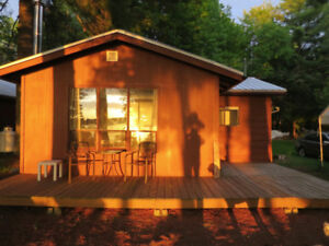 1 or 2 Cottages  pristine lake, fishing, sunsets. Sept. Special