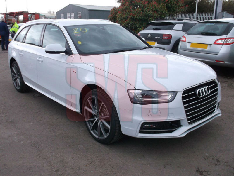 2016 audi a4 avant sline 2 0 tsi 180ps 8spd auto damaged. Black Bedroom Furniture Sets. Home Design Ideas
