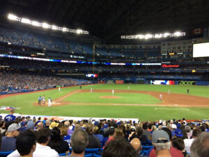 CANADA DAY BLUE JAYS TICKETS AT FACE VALUE: SECTION 117, ROW 34