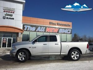 2016 Ram 1500 SLT  ACCIDENT FREE, BOX LINER, BLUETOOTH, CD/MP3/S