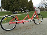 Tandem Bike (26'' wheels) -- Brand New