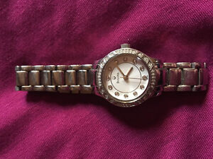 Bulova watch with diamonds