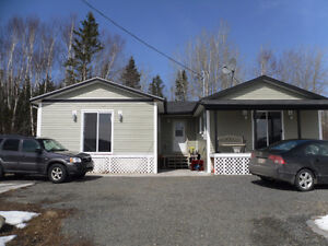 Spacious 2 bedroom home overlooking the bay in Norris Arm North!