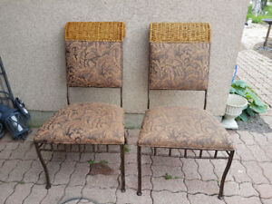 Iron Dining chairs