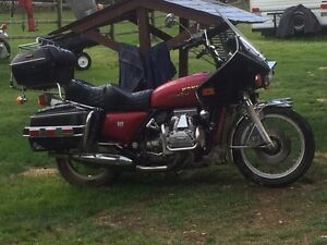 1977 Honda GoldWing GL1100 Loaded