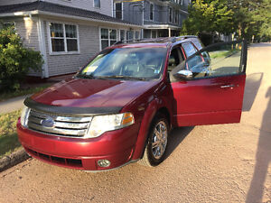 2008 Ford Taurus X Limited SUV, Crossover
