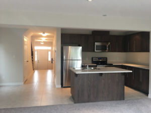 3bed new end unit townhouse Huron Kitchener Feb 1, 2018 for rent