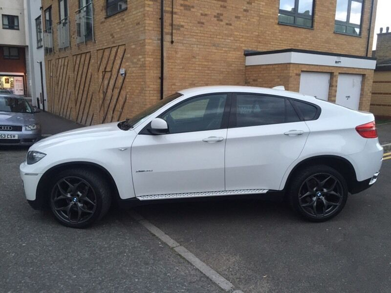 white bmw x6 m sport red leather in blackheath london gumtree. Black Bedroom Furniture Sets. Home Design Ideas