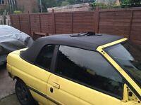 Ford escort cabriolet mk5/6 vinyl roof