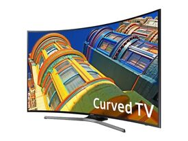 Samsung 55 Inch Series 6 Ultra HD 4K Smart Curved LED TV with Built-in Wi-Fi & Freeview HD