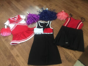 Cheerleading Costumes, flapper and genie costumes as well