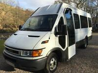 IVECO DAILY MINIBUS TWIN WHEEL 2004 LOW MILES WHEELCHAIR LIFT CAMPER MOTORHOME