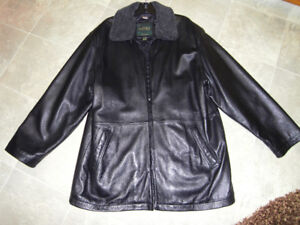 Danier Leather Brand New Mens XL Leather Coat