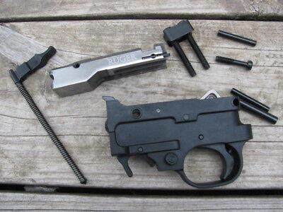 Ruger 10 22 Parts Lot Bolt Firing Pin Extractor Charging Handle Trigger V Block