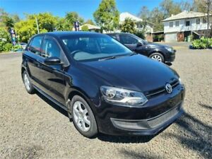 2013 Volkswagen Polo 6R MY13 77 TSI Comfortline Black 7 Speed Auto Direct Shift Hatchback South Lismore Lismore Area Preview