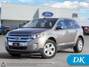 2013 Ford Edge SEL  w/Leather, Back-up Camera, & More!