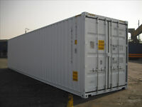 20' and 40' shipping containers for sale or rent