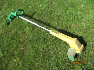 Corded lawn trimmer